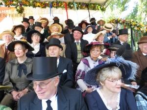 Ehrentribüne für die Stadträte Sindelfingens