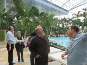 Sinsheim Thermen- und Badewelt: Palmenparadies