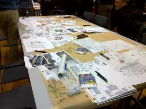 Ideenwerkstatt Postareal: Grundrisse überlegen